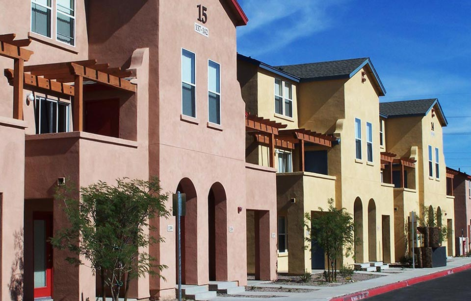 Sahara Luna Townhomes - New & Rehab | Tofel Dent Construction