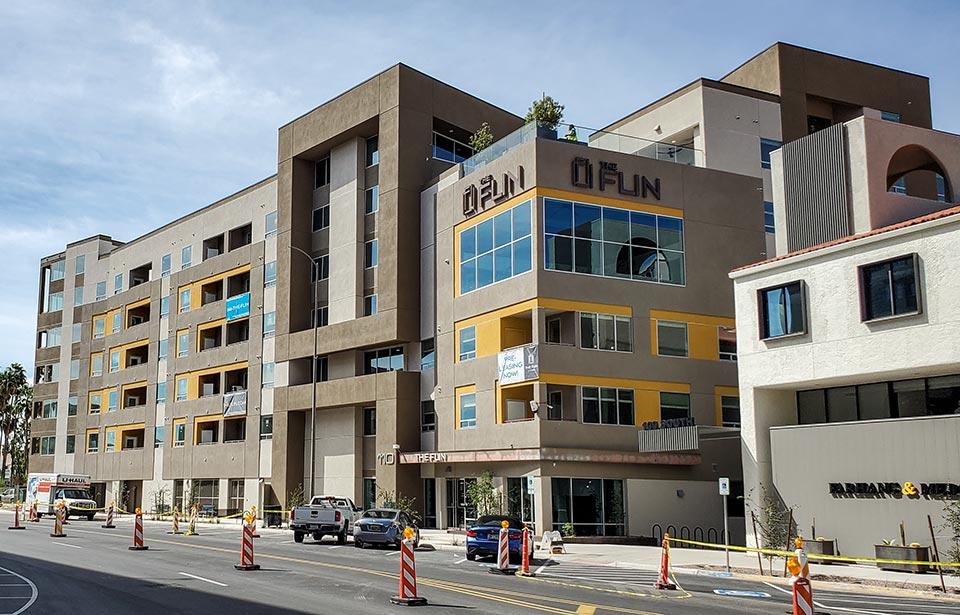 The Flin Luxury Apts - October 2021 progress | Tofel Dent Construction