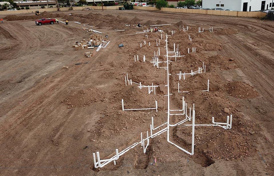 Broadway Apartments, Tempe - September 2019 progress | Tofel Dent Construction