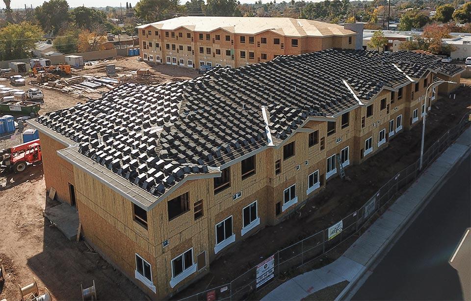 Encore at Northern - January 2020 progress | Tofel Dent Construction