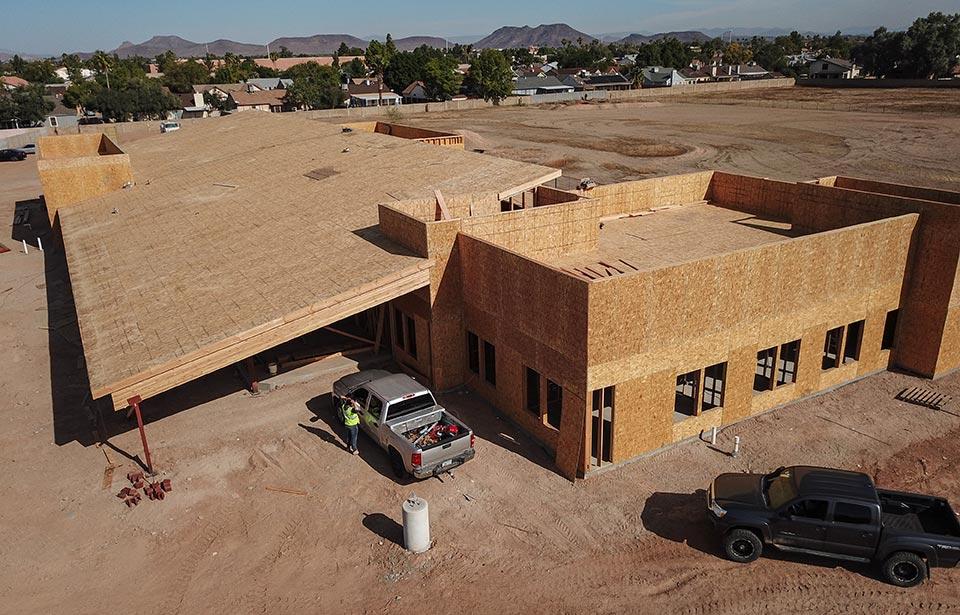 Glendale Adult Day Health Care - November 2019 progress | Tofel Dent Construction