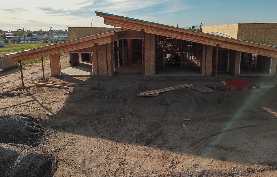 Glendale Adult Day Health Care - January 2020 progress | Tofel Dent Construction
