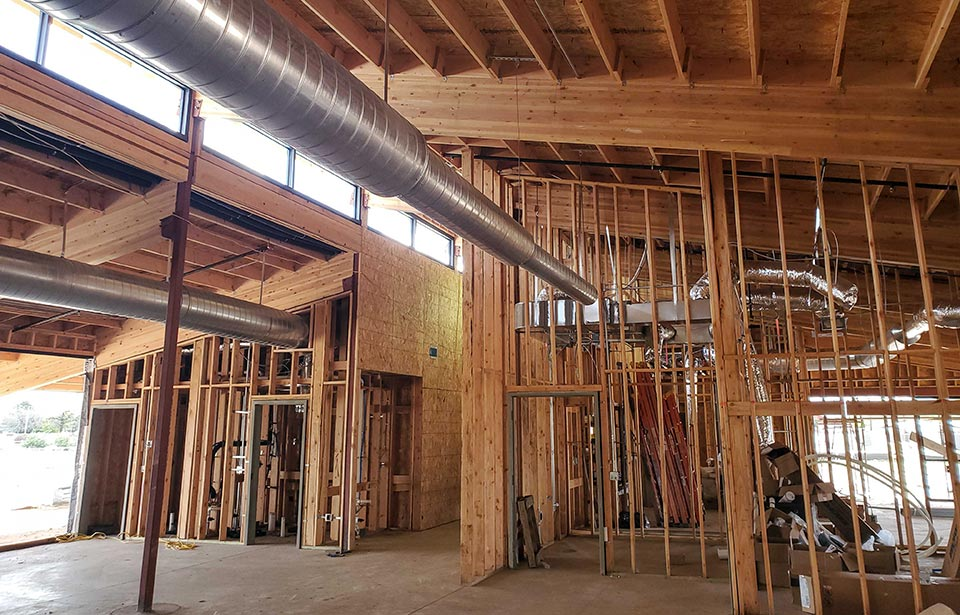 Glendale Adult Day Health Care - March 2020 progress | Tofel Dent Construction