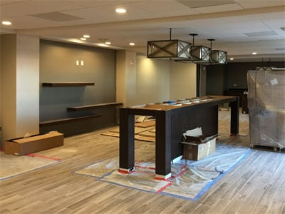 Hampton Inn, El Centro - October 2016 progress | Tofel Dent Construction