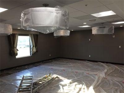 Hampton Inn, El Centro - October 2016 progress | Tofel Dent Construction