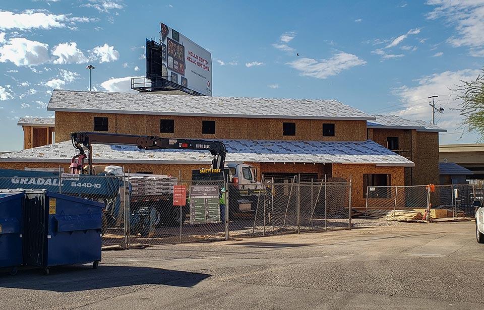 Horace Steele Commons Rehab - July 2019 progress | Tofel Dent Construction