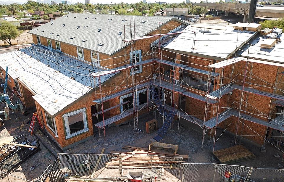 Horace Steele Commons Rehab - August 2019 progress | Tofel Dent Construction