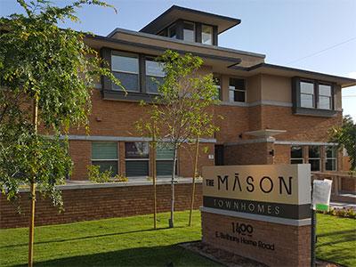 The Mason Bethany Townhomes | Tofel Dent Construction