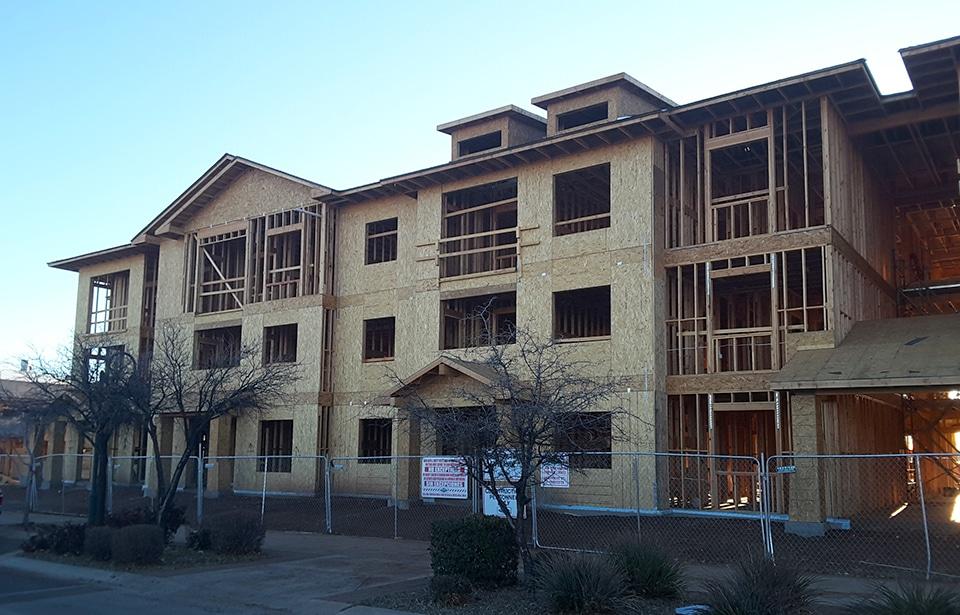 Talking Glass Apartments - March 2019 progress | Tofel Dent Construction