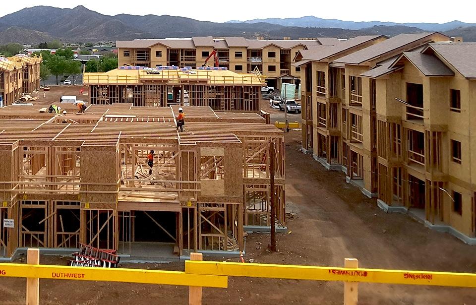 Talking Glass Apartments - April 2019 progress | Tofel Dent Construction