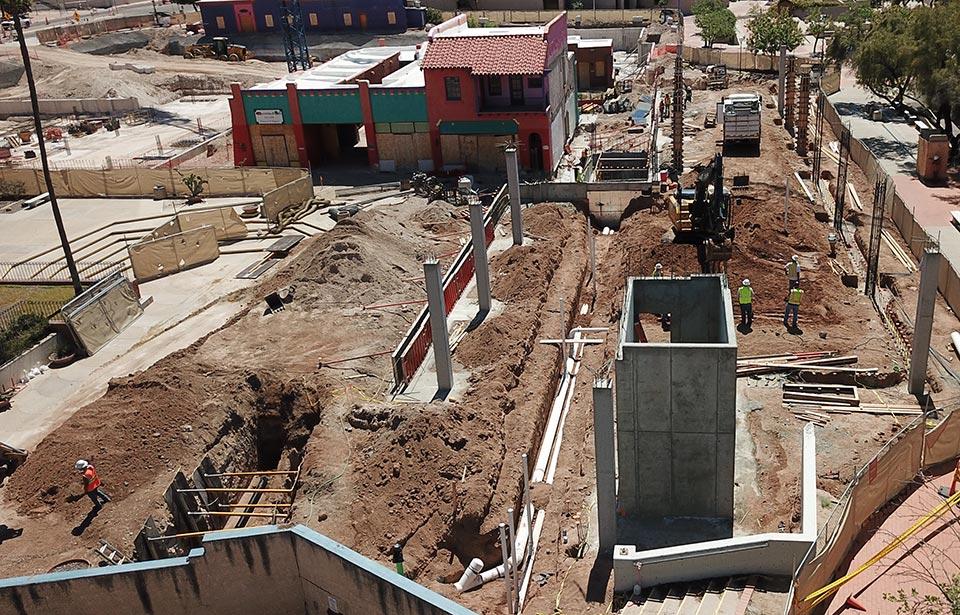 The Flin Luxury Apartment Homes - April 2019 progress | Tofel Dent Construction