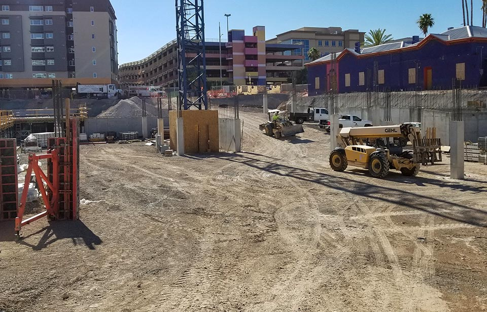 The Flin Luxury Apartment Homes - July 2019 progress | Tofel Dent Construction