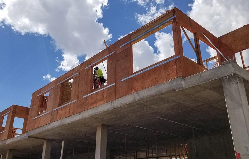 The Flin Luxury Apartment Homes - October 2019 progress | Tofel Dent Construction