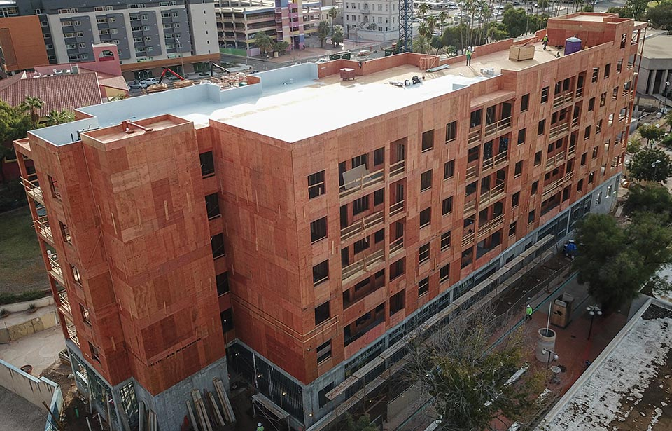 The Flin Luxury Apartment Homes - December 2019 progress | Tofel Dent Construction