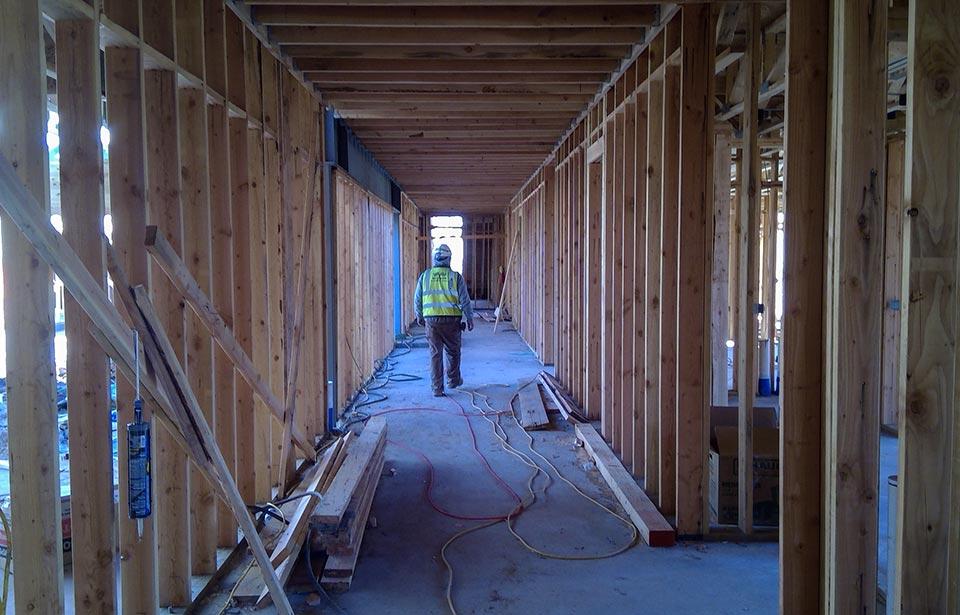 Trailside Apartments - November 2019 progress | Tofel Dent Construction