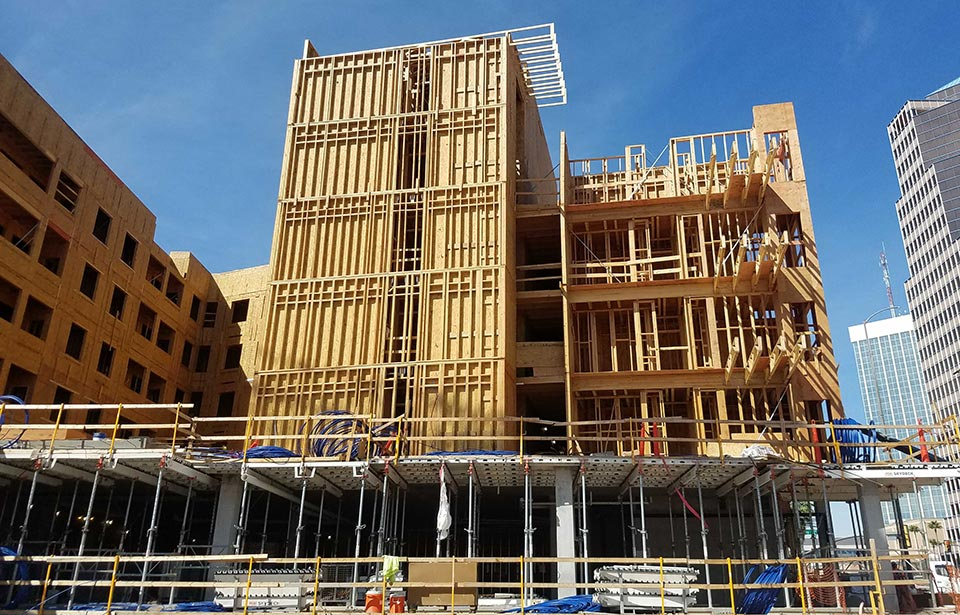 The Flin Luxury Apts - March 2020 | Tofel Dent Construction