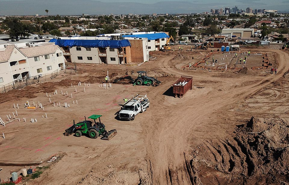 Village on Roeser - March 2020 progress | Tofel Dent Construction