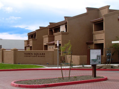 Town Square Courtyard Homes   Tofel Dent Construction