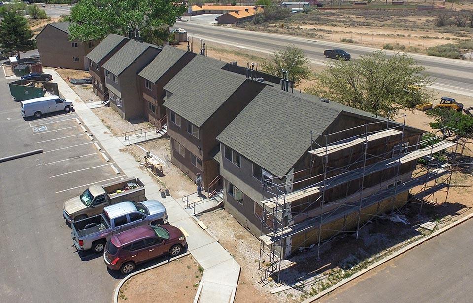 Sunray Apts Rehab - May 2021 progress   Tofel Dent Construction