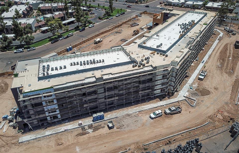 Broadway Apartments - July 2020 progress | Tofel Dent Construction