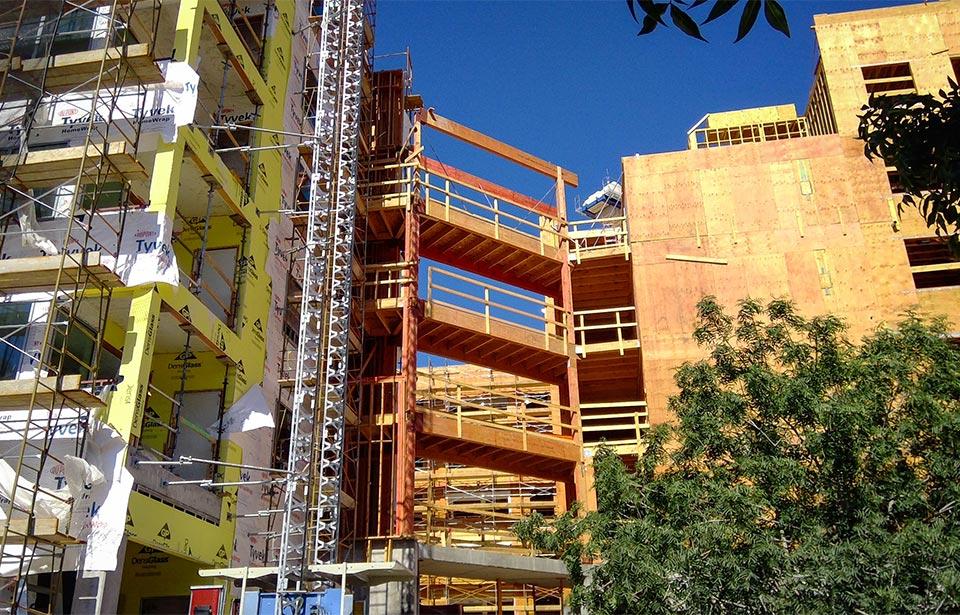 The Flin Luxury Apts - June 2020 progress | Tofel Dent Construction