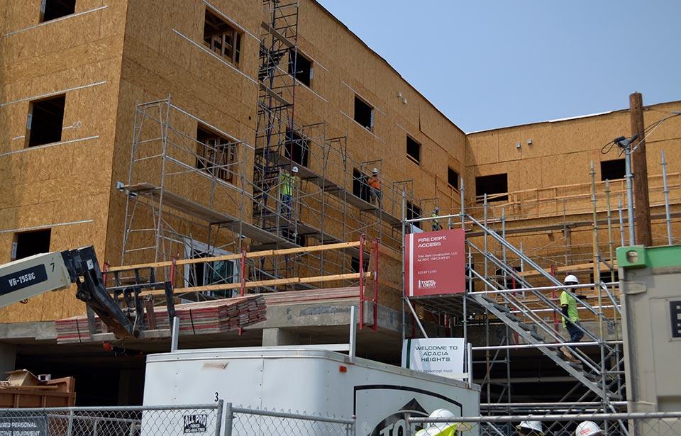 Acacia Heights - August 2020 progress | Tofel Dent Construction