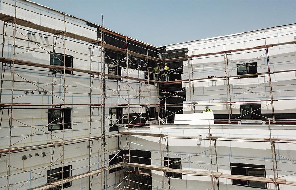 Acacia Heights - September 020 progress | Tofel Dent Construction