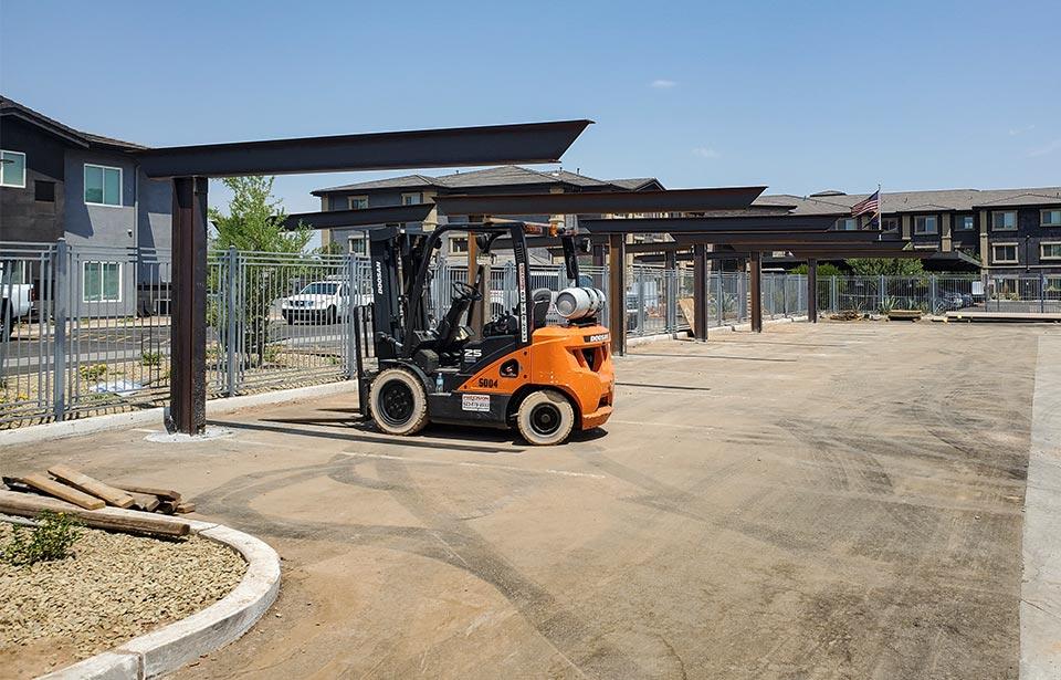 Encore on Northern - August 2020 progress | Tofel Dent Construction