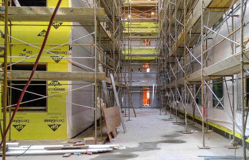 The Flin Luxury Apts - September 2020 progress | Tofel Dent Construction