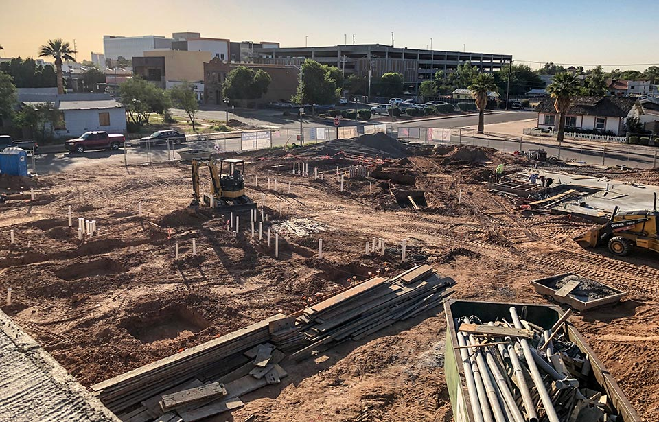 DC Heights Apartments - October 2021 progress   Tofel Dent Construction