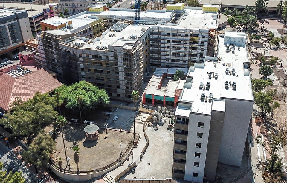 The Flin Luxury Apts - October 2020 progress | Tofel Dent Construction