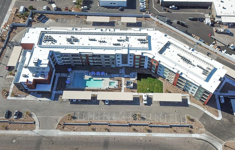 Broadway Apartments, Tempe - January 2021 progress | Tofel Dent Construction