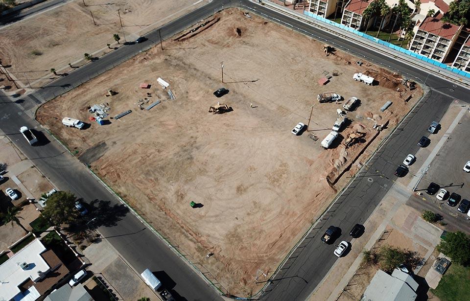 DC Heights Apartments - October 2020 progress
