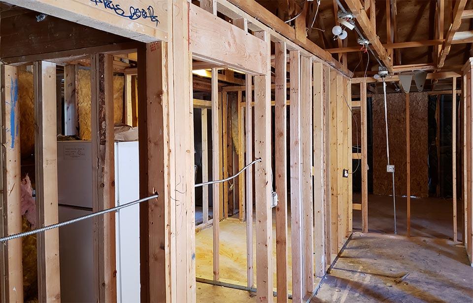 Sunray Apts Rehab - November 2020 progress   Tofel Dent Construction