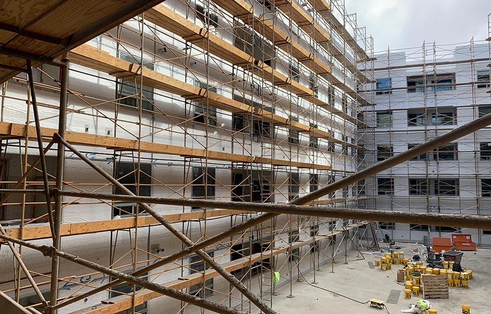The Flin Luxury Apts - November 2020 progress | Tofel Dent Construction