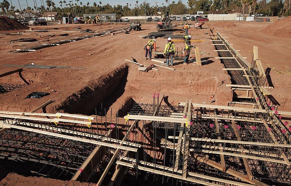 DC Heights Apartments - March 2021 progress | Tofel Dent Construction