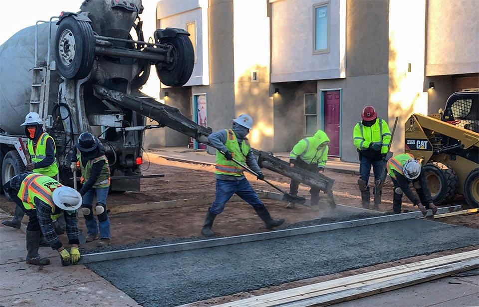 Lobo Canyon Apts Rehab - February 2021 progress   Tofel Dent Construction