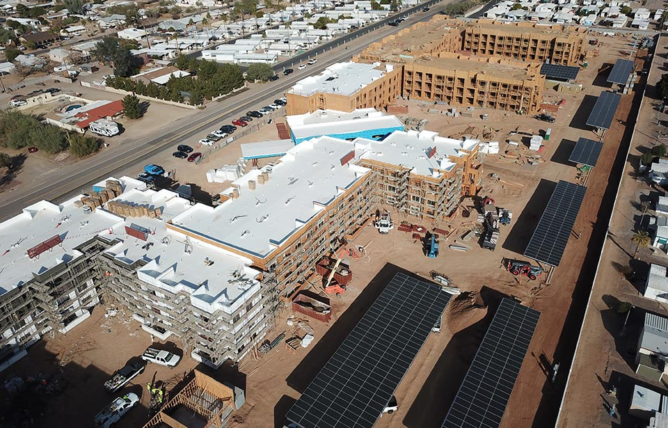 Solstice of Mesa - January 2021 progress | Tofel Dent Construction