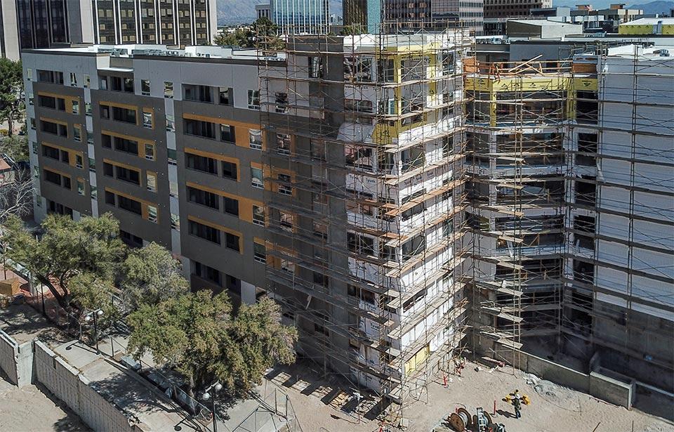 Flin Luxury Apts - March 2021 progress | Tofel Dent Construction