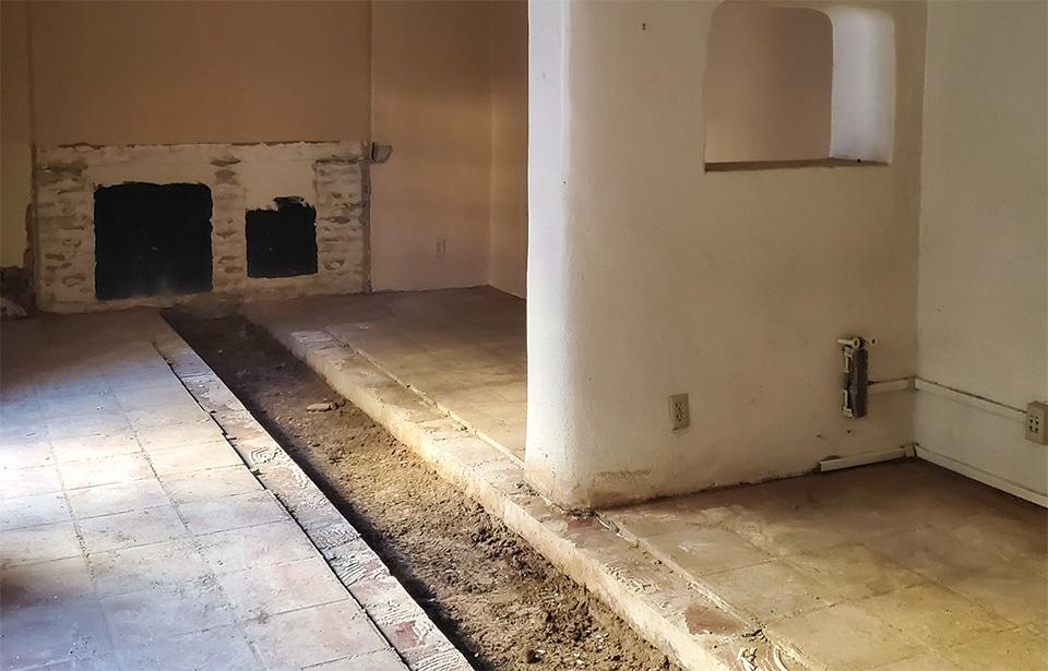 Cano Drug / Hop Lee Laundry Rehab - February 2021 progress | Tofel Dent Construction
