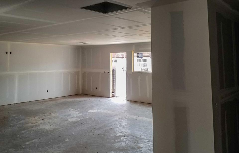 Sunray Apts Rehab - April 2021 progress   Tofel Dent Construction