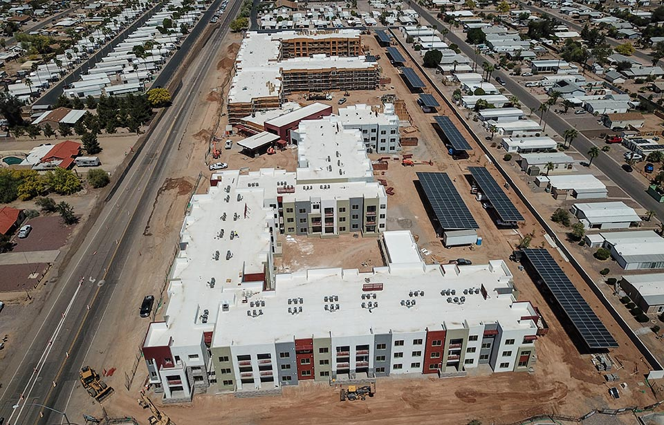 Solstice of Mesa - April 2021 progress | Tofel Dent Construction