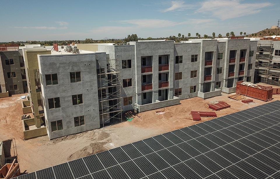 Solstice of Mesa - April 2021 progress   Tofel Dent Construction