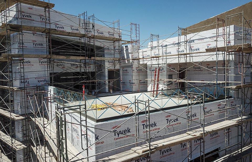 Flin Luxury Apts - May 2021 progress | Tofel Dent Construction