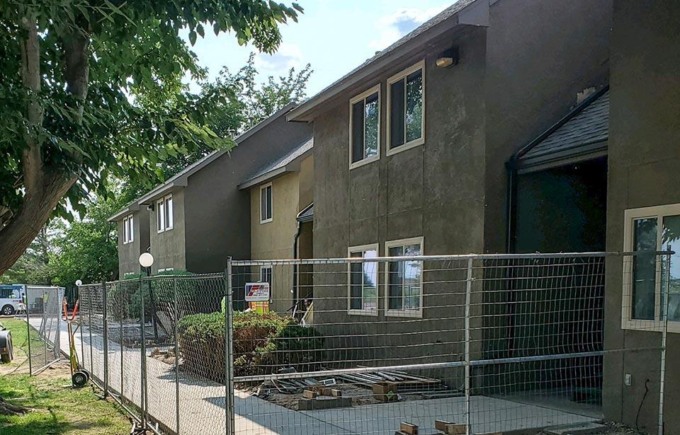 Encantada Apartments Rehab - July 2021 progress   Tofel Dent Construction