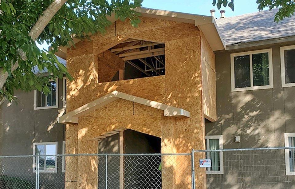 Encantada Apartments Rehab - August 2021 progress   Tofel Dent Construction